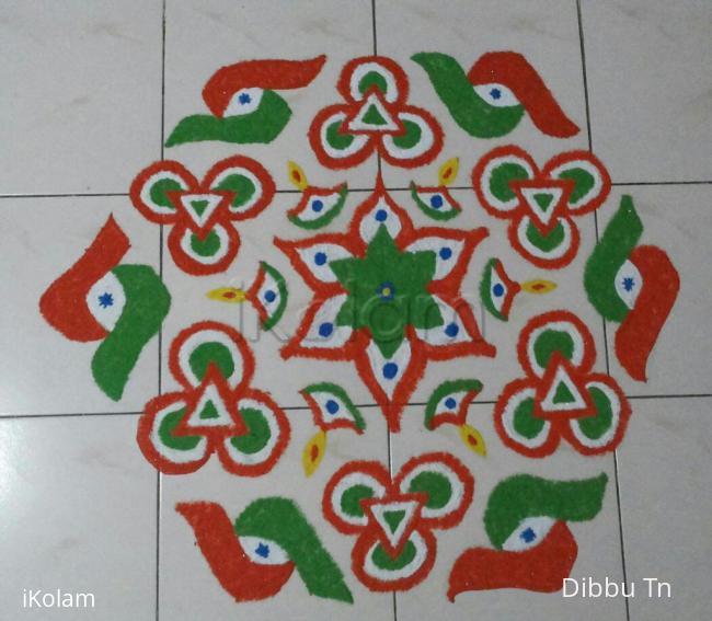 Rangoli: Happy Independence Day