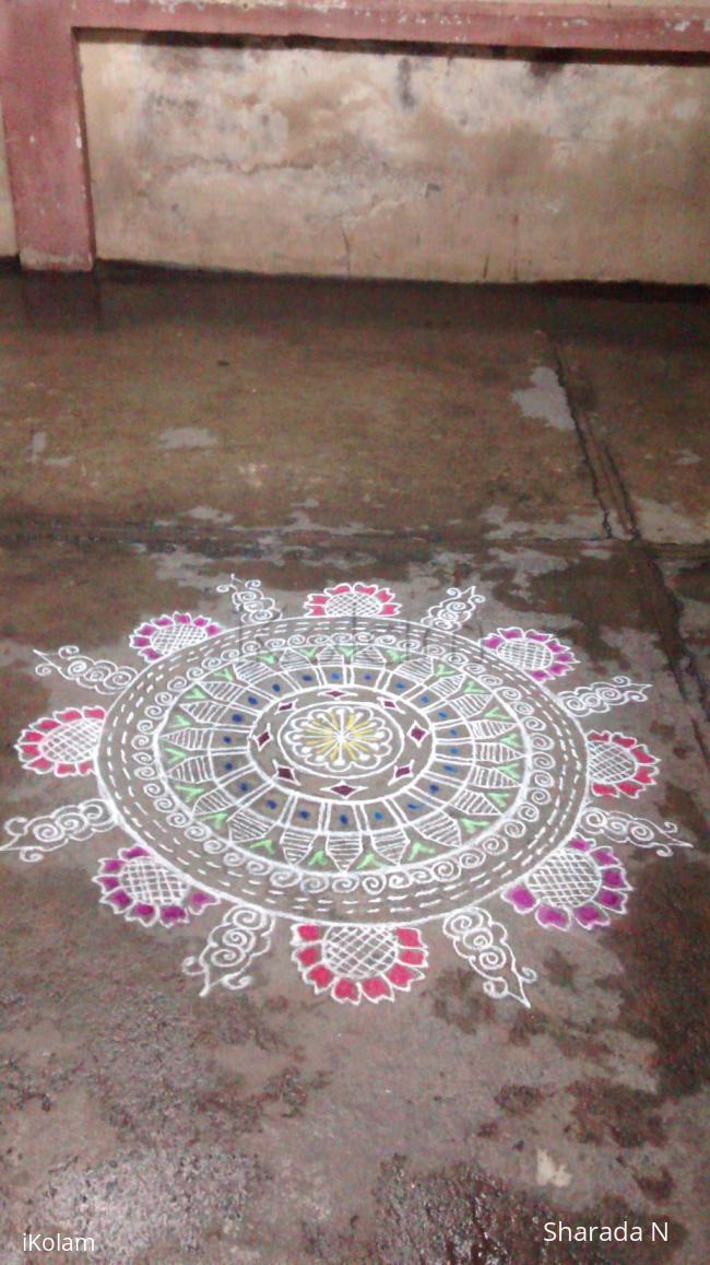 Rangoli: Freehand inspirational kolam