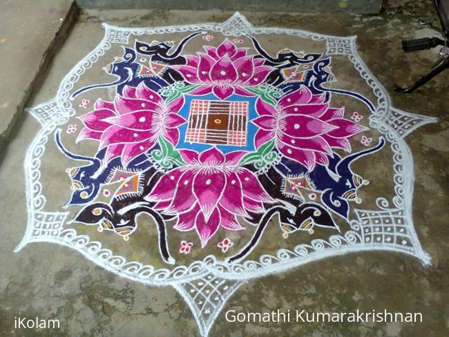 Rangoli: Margazhi Utsavam Day-13 (Friday)