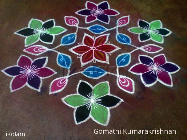 Rangoli: Happy Kanum Pongal