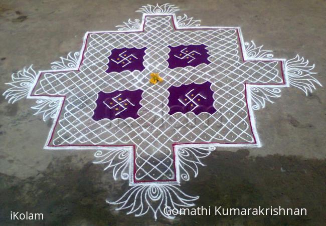 Rangoli: Margazhi Utsavam Day-11