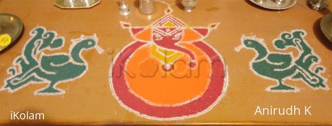 Rangoli: Happy Ganesha Chathurthi