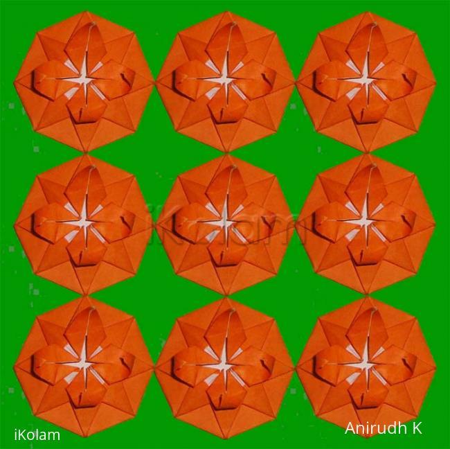 Origami flower star ikolam comments mightylinksfo