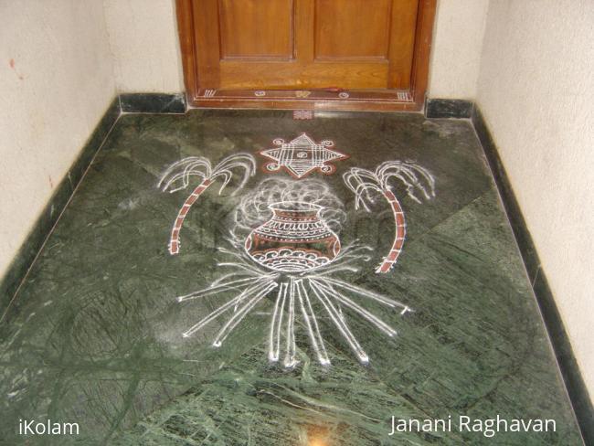 Rangoli: 2011- Pongal