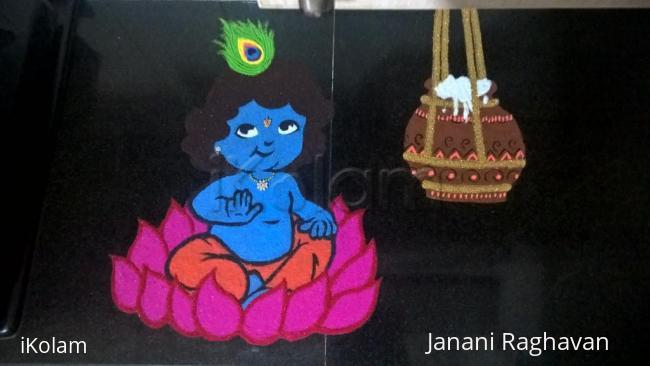 Rangoli: 2017-Janmashtami-2