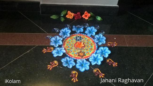 Rangoli: 2017-Onam-3