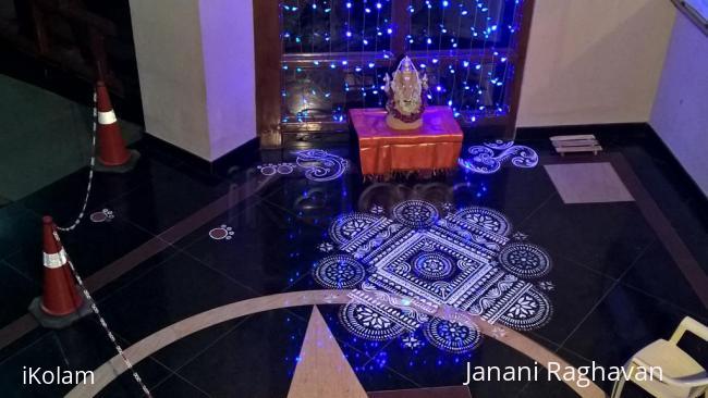 Rangoli: 2015-Ganesh Chaturthi-Lobby-1