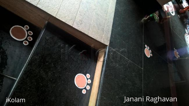 Rangoli: 2015-Ganesh Chaturthi-Lobby-4