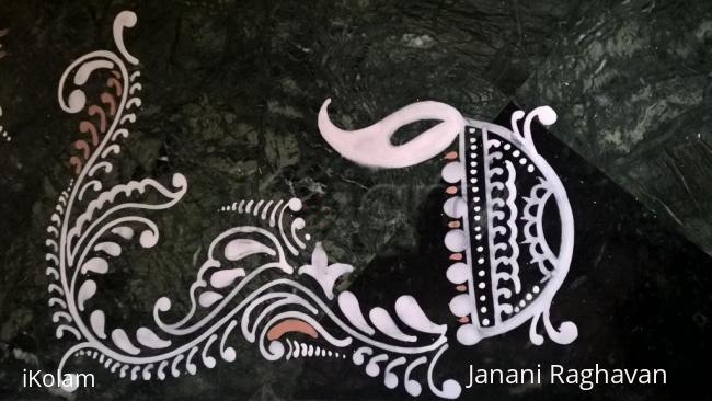 Rangoli: 2016-Durga Namaskaram Pooja-Sandhya's place-4
