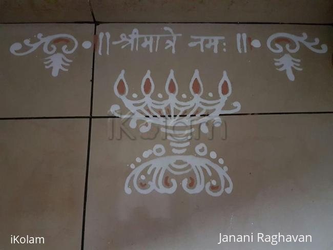 Rangoli: 2016-Durga Namaskaram Pooja-Sandhya's place-7
