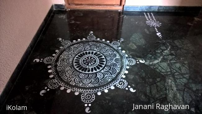 Rangoli: 2015-Gowri Pooja
