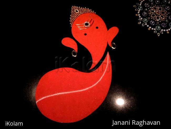 Rangoli: Home Kolams- Ganesha