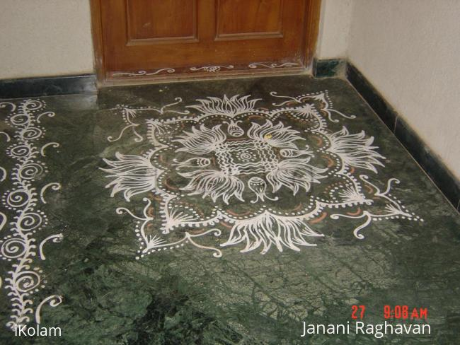 Rangoli: Home basic kolams-6