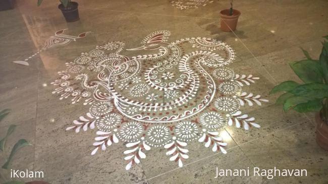 Rangoli: 2015-Navratri-Lobby-1