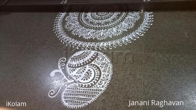 Rangoli: 2015-NMKRV College-Sanskrit Exhibition-4
