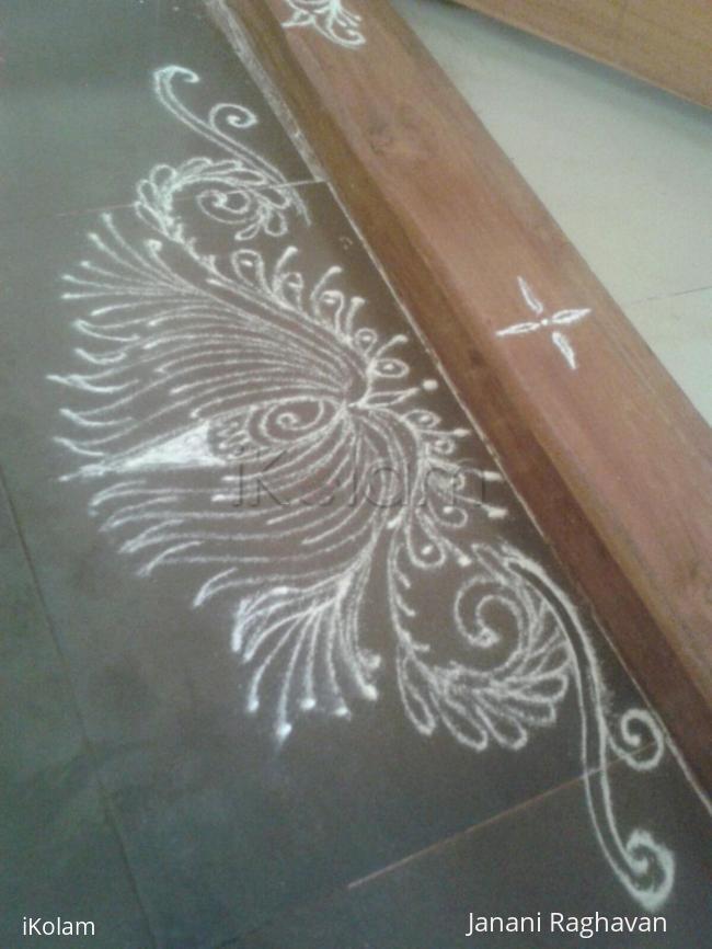 Rangoli: My sister's kolam- (Shobana's kolams)