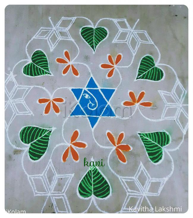 Rangoli: Lord Ganesh