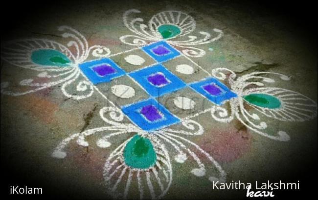 Rangoli: Simple rangoli design