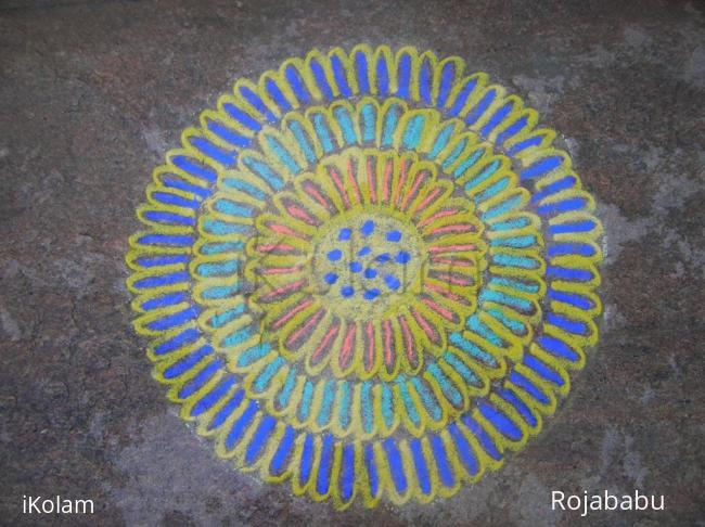 Rangoli: friday rangoli 3