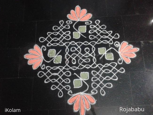 Rangoli: Fusion kolam