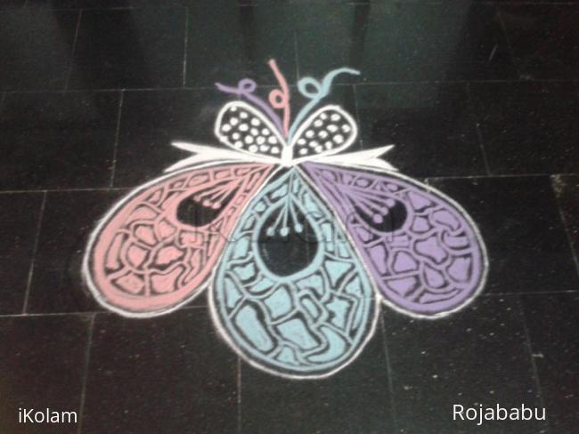Rangoli: Newyear spl rangoli