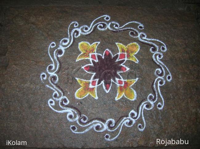 Rangoli: regular 14
