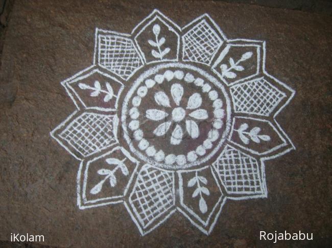 Rangoli: regular15