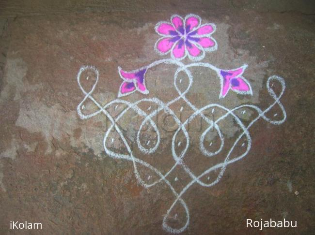 Rangoli: regular kolam
