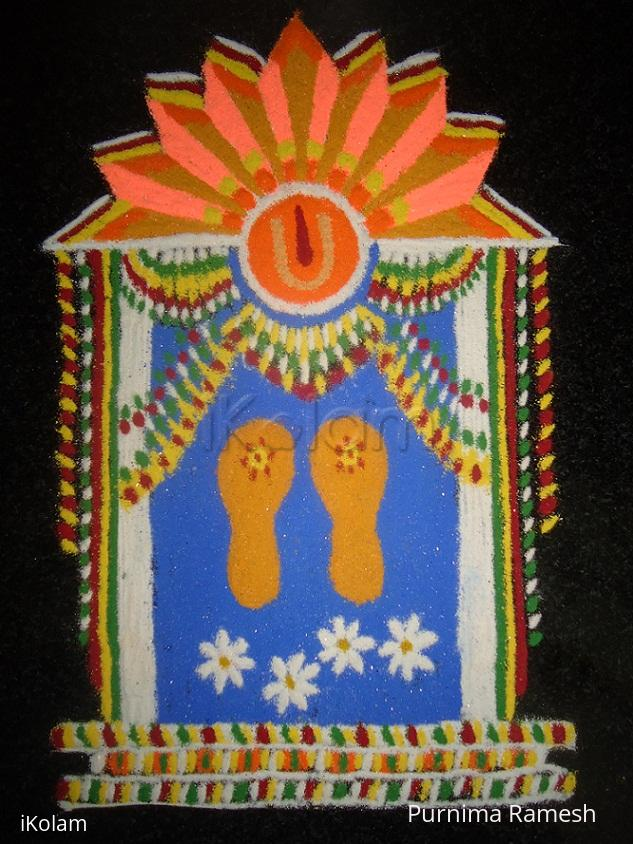 Rangoli: Ram Navami