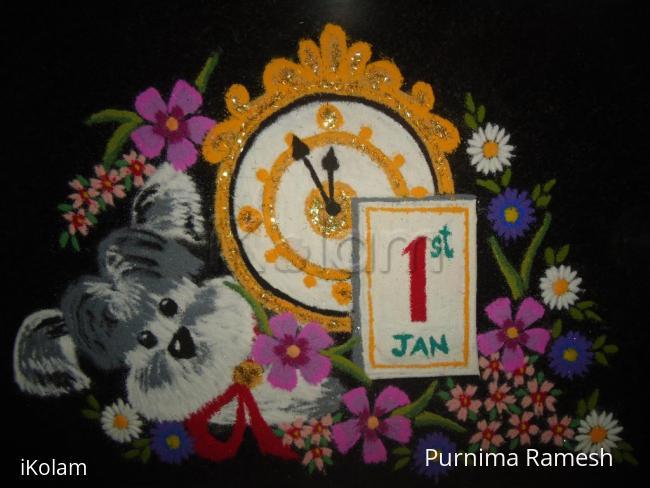 Rangoli: Happy 2015!!!