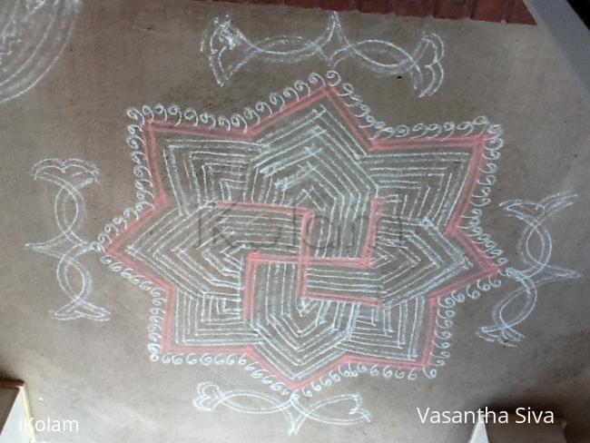 Rangoli: Karthikai Somavaram