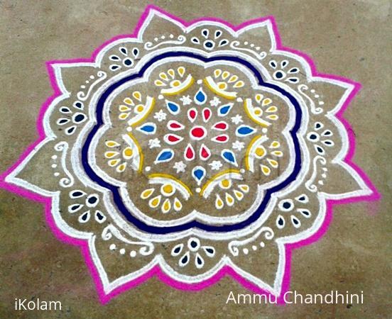 Rangoli: Diwali kolam-3