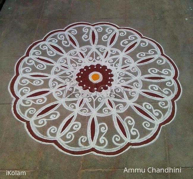 Rangoli: Aadi amaavasai kolam