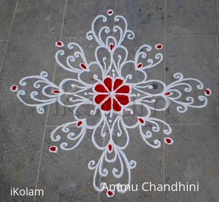 Rangoli: Happy birthdays spl kolam