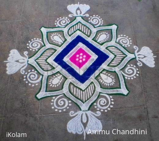 Rangoli: Beginner kolam