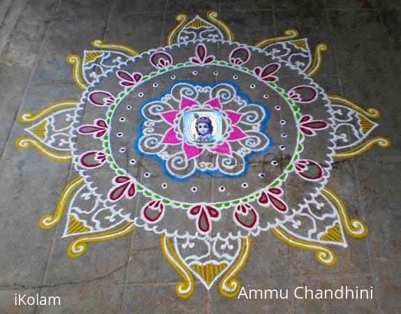Rangoli: Krishna Jayanthy spl kolam