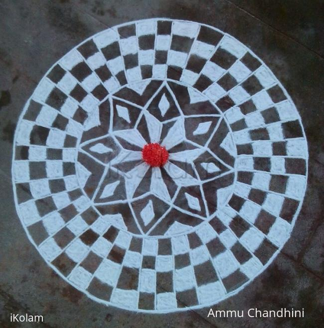 Rangoli: Navratri 2014-day 5