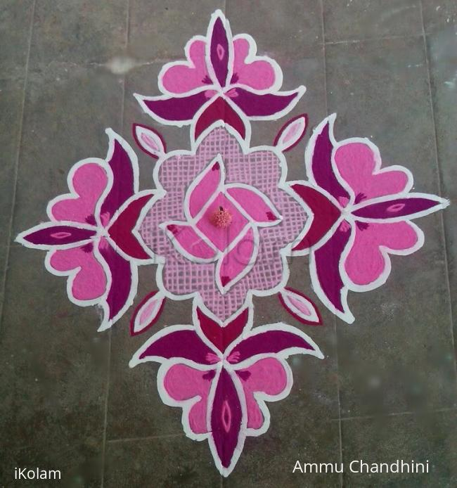 Rangoli: Navratri 2014-day 8