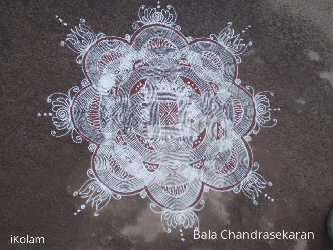 Rangoli: padi kolam for aadi 1st friday