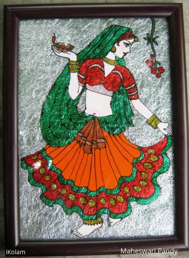 Rangoli: It is a Girl Who Lights the Family
