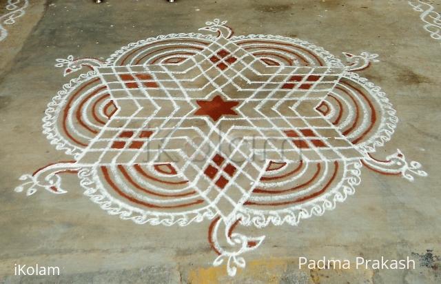 Rangoli: Star Kolam