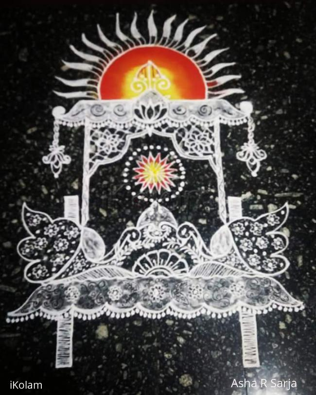 Rangoli: Rathasapthami