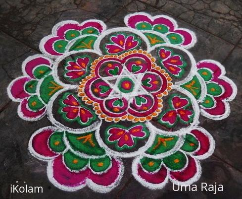 Rangoli: Tricolor try