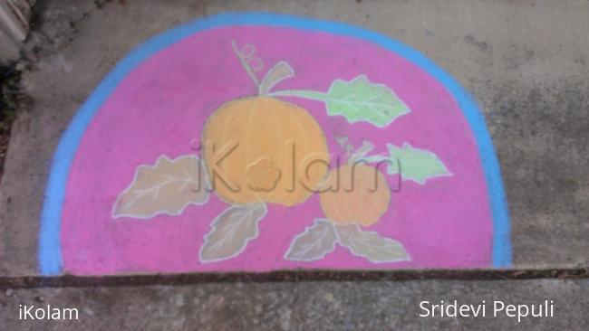 Rangoli: Halloween Rangoli