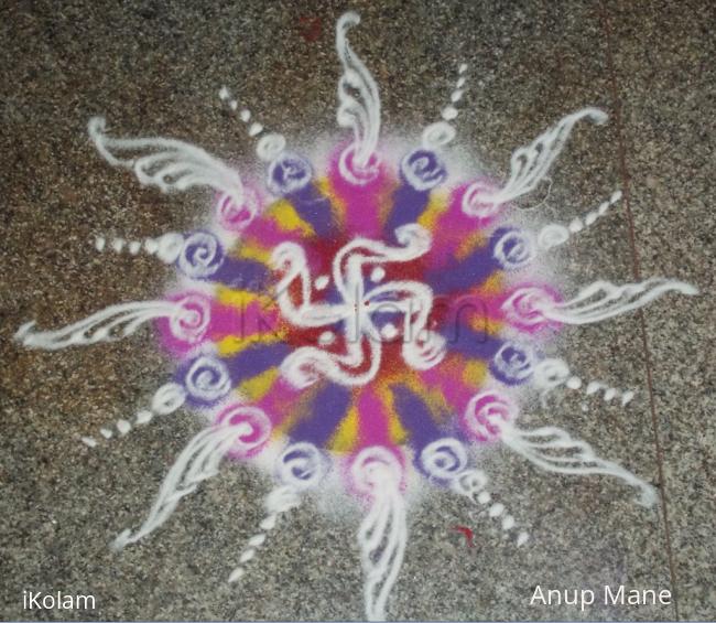 Rangoli: YamaDwitiya-BhaiDhuj-2012