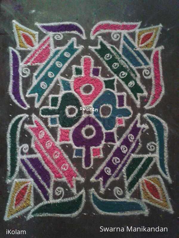 Rangoli: Margazhi 2014-2015: Day26: Dottedkolam