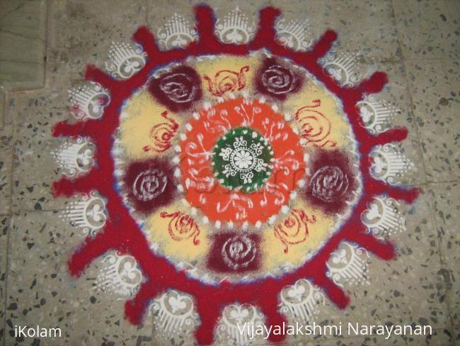 Rangoli: Diwali Rangoli 2012