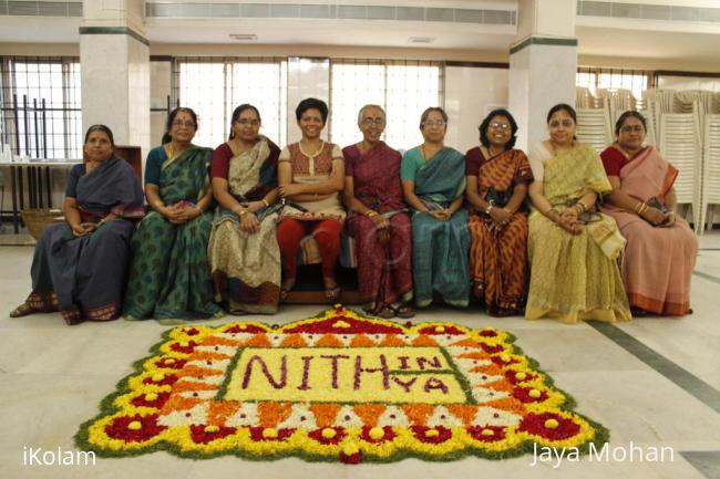 Rangoli: Pookolam for wedding