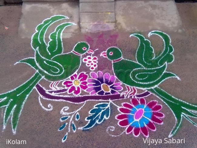 Happy New Year New Rangoli 19