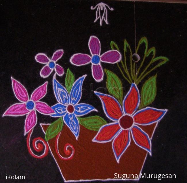 Rangoli: margazhi rangoli17
